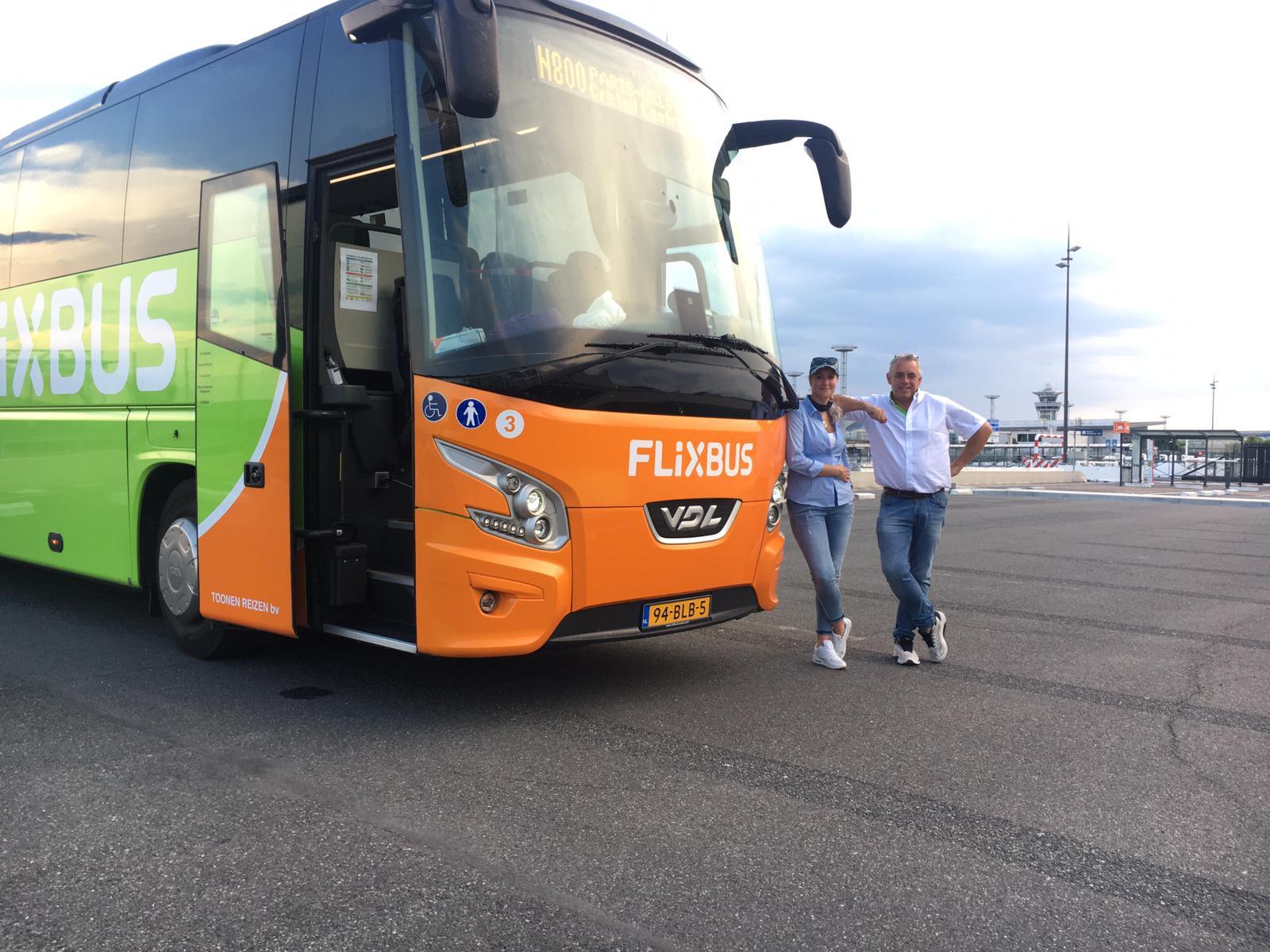 Flixbus chauffeurs